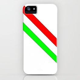 flag of Italia scarf- Italy,Italia,Italian,Latine,Roma,venezia,venice,mediterreanean,Genoa,firenze iPhone Case