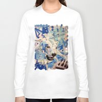 polar bear Long Sleeve T-shirts featuring Polar Bear by Michael Hammond