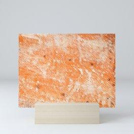 Fiberglass repairing shipboard texture Mini Art Print
