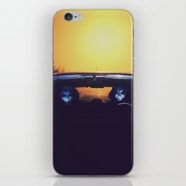 Time travelling aliens iPhone Skin
