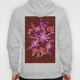 Apricot Nocturne Rose Hoody