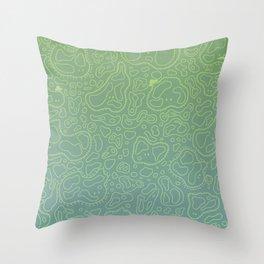 Amebas Throw Pillow
