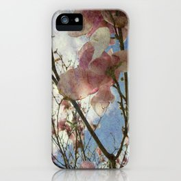Hanging By A Moment Textured iPhone Case