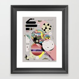 Spiteful Happy Framed Art Print