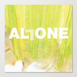 SUNDAYS ARE FOR SOULMATES / ALL ONE Canvas Print