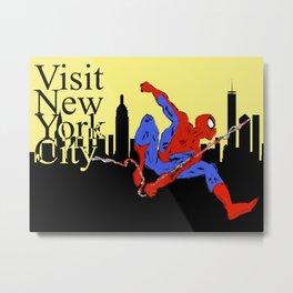 Visit New York City Metal Print