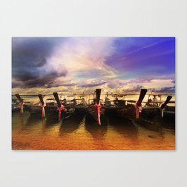 Sunset in PhiPhi Island. Canvas Print