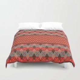 Bohemian Kilim Pattern Mosaic Duvet Cover