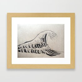 What's in a Wave? Framed Art Print