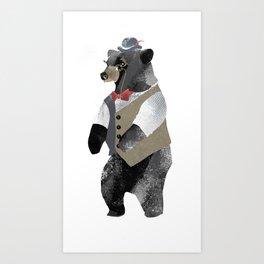Fancy Bear Art Print