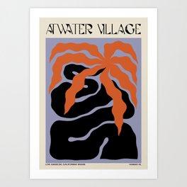 Atwater Village Art Print