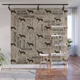 Dutch Shepherd - Hollandse Herder - Dutchie Wall Mural