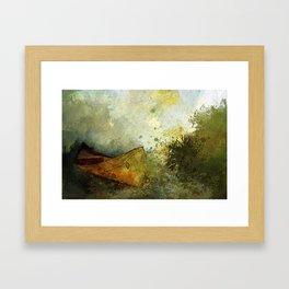 HOPE LEAVES Framed Art Print