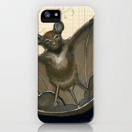 Metal Bat Tray in Gouache iPhone Case