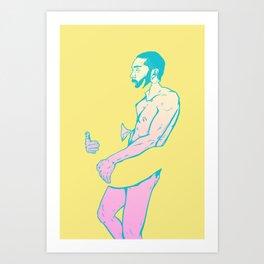 Male Gaze #4 Art Print