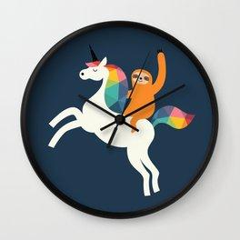 Magic Time Wall Clock