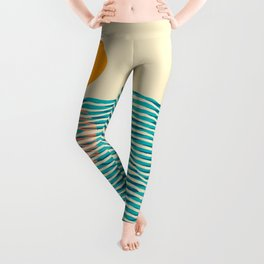 Ocean current Leggings