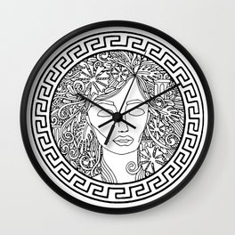 GREEK GODDESS Wall Clock