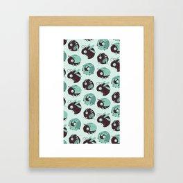 TasteBug Pattern Framed Art Print