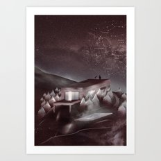 Night Sky Stories Art Print
