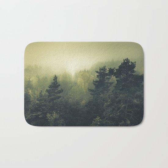 Forests never sleep Bath Mat