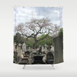 The Tree of the Dead Shower Curtain