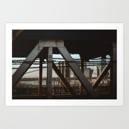 View From the B Train Art Print