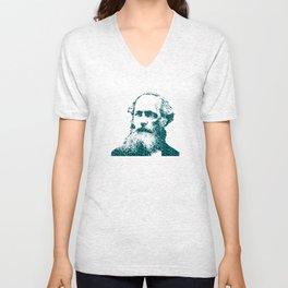 James Clerk Maxwell's Equations Unisex V-Neck