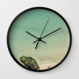 Freedom in Paradise Wall Clock