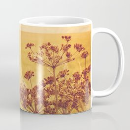 By the side of the wheat field. Coffee Mug