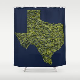 Deep in the Heart Shower Curtain