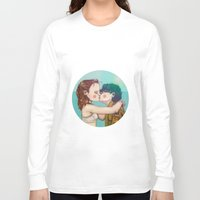 moonrise kingdom Long Sleeve T-shirts featuring Moonrise Kingdom by Maripili