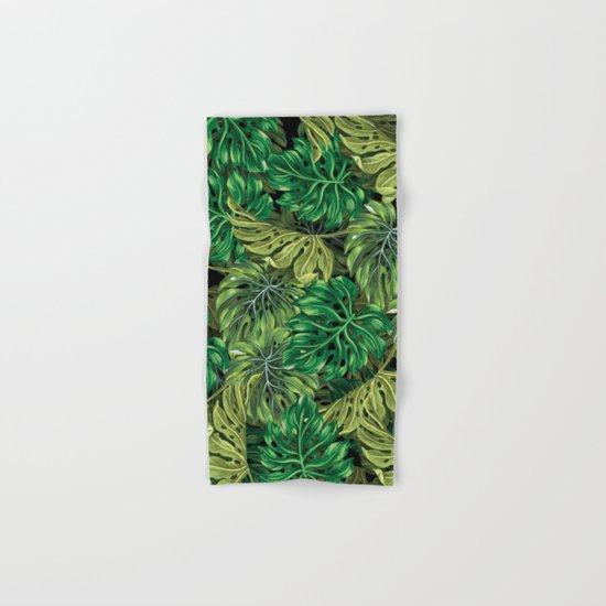tropical haven 2 Hand & Bath Towel