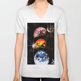 One World Over Unisex V-Neck