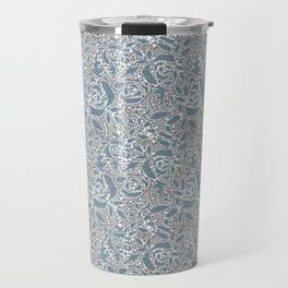Floral lace Travel Mug