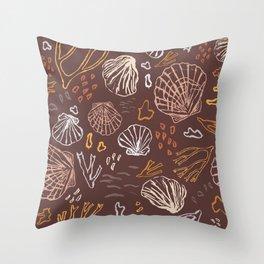 Deep-sea Treasures - warm Throw Pillow