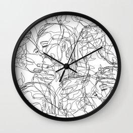 Love on Repeat Wall Clock