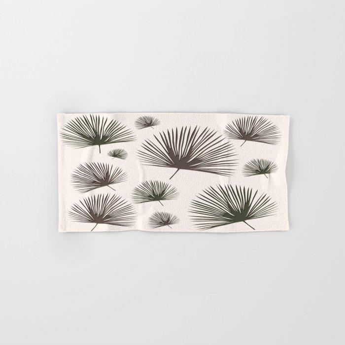 Softer Seasons (sand fan palm) Hand & Bath Towel