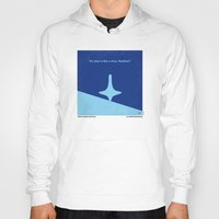 inception Hoodies featuring No240 My Inception minimal movie poster by Chungkong