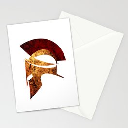 Spartan warrior Stationery Cards