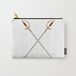 Crossed Infantry Swords Carry-All Pouch