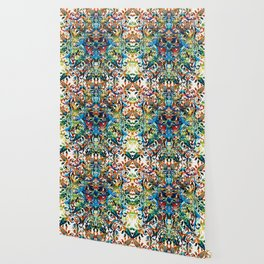 Bold Pattern Art - Color Fusion Design 8 By Sharon Cummings Wallpaper