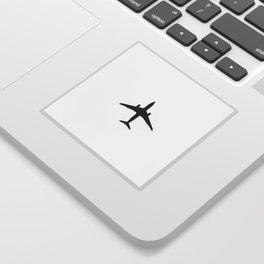 Thinking of Travels Sticker