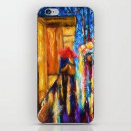 Love In The Rain iPhone Skin