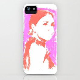 JM Pink  iPhone Case