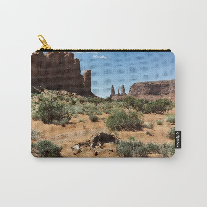 Monument Valley Horse Carcass Carry-All Pouch