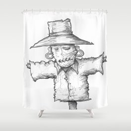 Scarecrow Recon #1 Shower Curtain