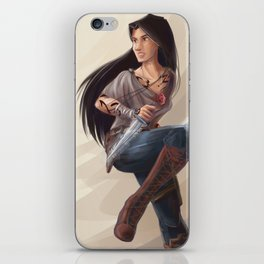 Isabelle Lightwood iPhone Skin
