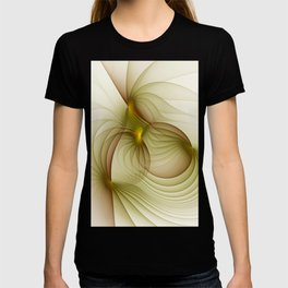 Precious Metal, Abstract Fractal Art T-shirt