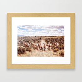 The Final Frontier Framed Art Print